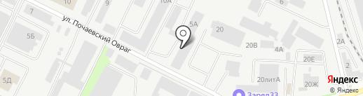 Ареал-2 на карте Владимира