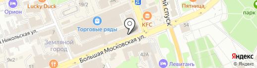 Пшеничный кот на карте Владимира
