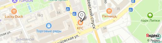 Цветы №1 на карте Владимира