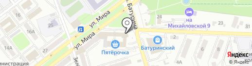 Яндекс на карте Владимира