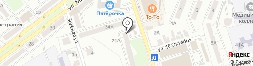 Парикмахерская на карте Владимира