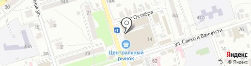 Мойдодыр на карте Владимира