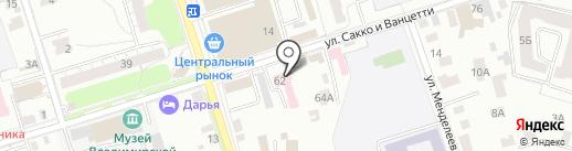 Центр ветеринарии Владимирской области на карте Владимира