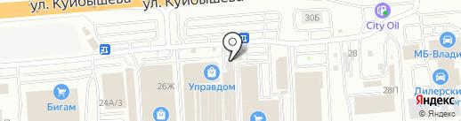 Ателье по ремонту и пошиву одежды на карте Владимира
