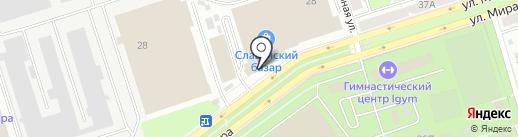 ТМК на карте Владимира