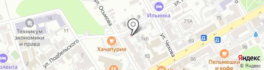 Центр специализированной фтизиопульмонологической помощи на карте Владимира