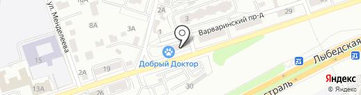 Автолэнд на карте Владимира
