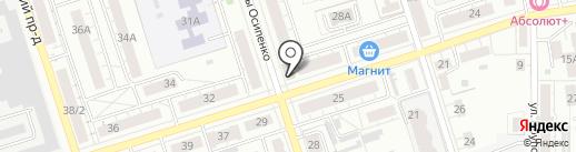 Мастерская по ремонту обуви на карте Владимира