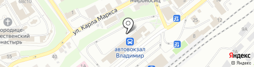 Магазин на карте Владимира