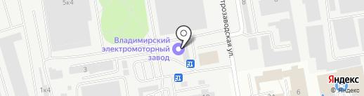 Умная мебель на карте Владимира