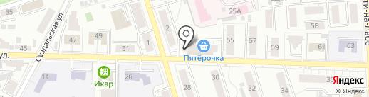 Хмель и Солод на карте Владимира