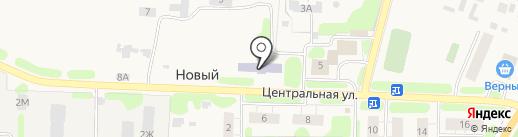 Золотой колобок на карте Нового