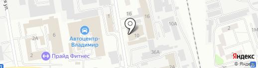 ВладСтройЦентр Н на карте Владимира