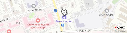 Профи на карте Владимира