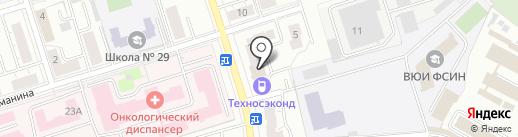 ТрудЭксперт на карте Владимира