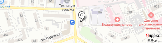 Ногтевая студия Вероники Вальковской на карте Владимира