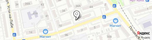У дома на карте Владимира