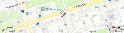 Гемотест на карте Владимира