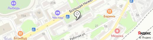 Центр, ТСЖ на карте Владимира