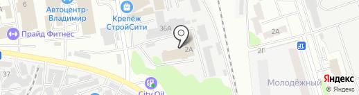 Владимиров и партнеры на карте Владимира