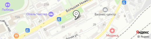 Нуга Бест на карте Владимира