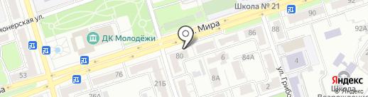 ЦЕНТР-АВТО на карте Владимира