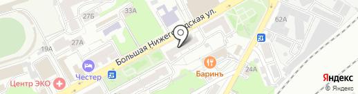 У Серебряных Ворот, ТСЖ на карте Владимира