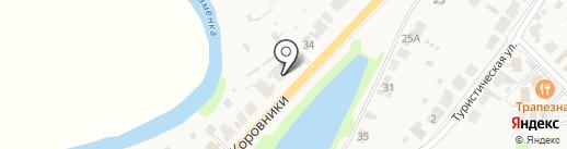 Волна на карте Суздаля