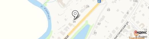 У Юлии на карте Суздаля