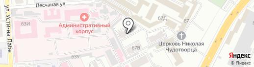 Шоколад на карте Владимира