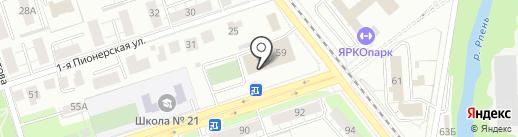 Федерация плавания г. Владимира на карте Владимира