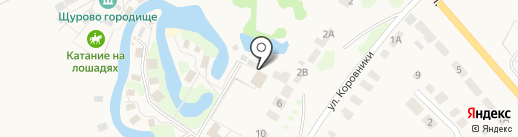 Былина на карте Суздаля