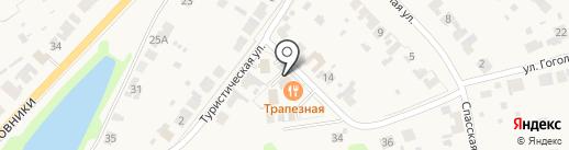 Добролюбово на карте Суздаля