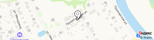 В гостях у Юли на карте Суздаля
