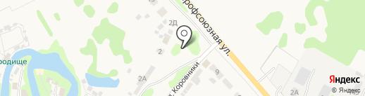 Гостевой Дом с банькой на карте Суздаля