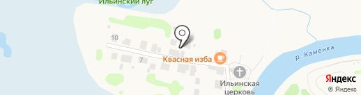 На Ивановой горе на карте Суздаля