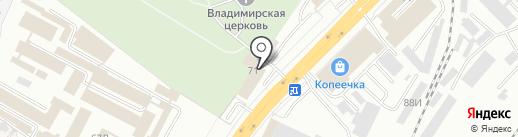 ГК 33 Регион на карте Владимира