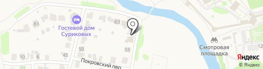 У Власовых на карте Суздаля