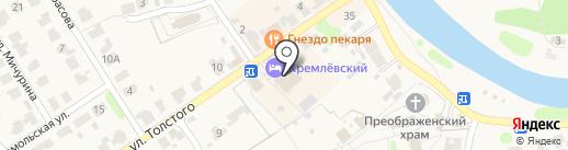 Русская Трапеза на карте Суздаля