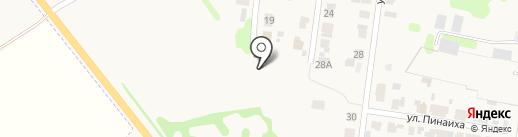 Около музея деревянного зодчества на карте Суздаля