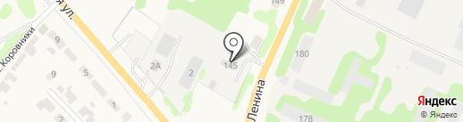 ТСУ-1 на карте Суздаля