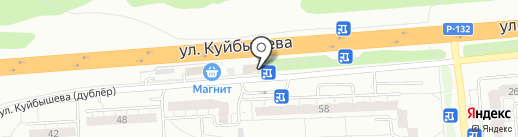 Магазин овощей и фруктов на карте Владимира