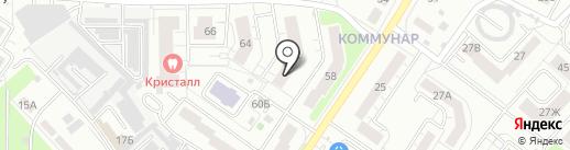 Пионер, ТСЖ на карте Владимира