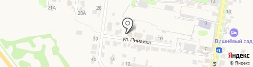 Pinaiha на карте Суздаля