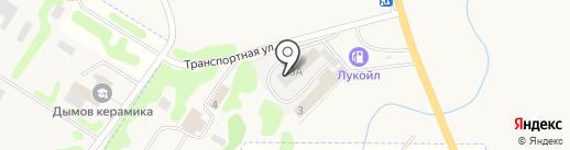 Вектор на карте Суздаля