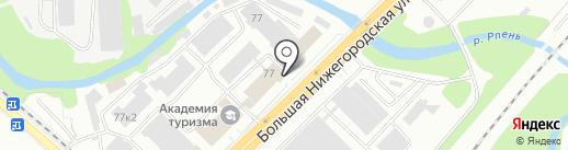 Грундфос на карте Владимира