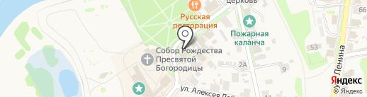 Салон сувениров на карте Суздаля