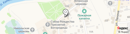 Morozov на карте Суздаля