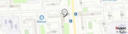 Магазин мороженого на карте Владимира