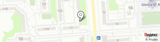Безыменского-13, ТСЖ на карте Владимира